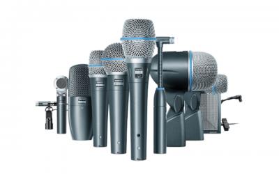 Update Mietpark: Mikrofone